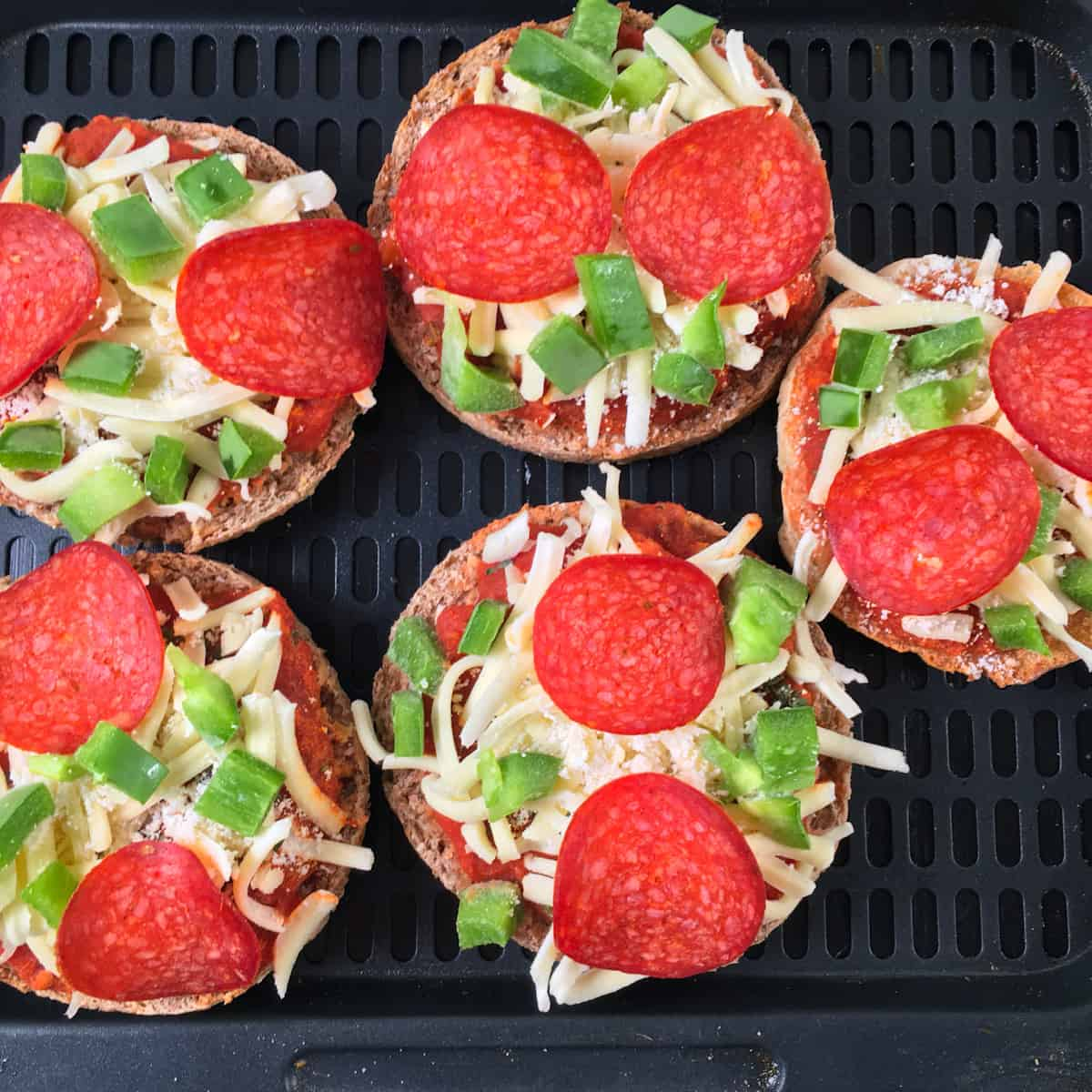 frozen mini pizzas in air fryer