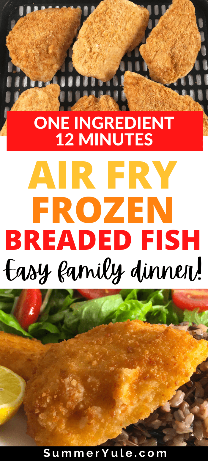 how to air fry frozen breaded fish