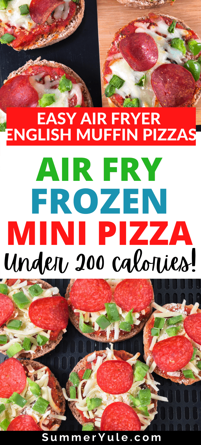 how to air fry frozen mini pizza