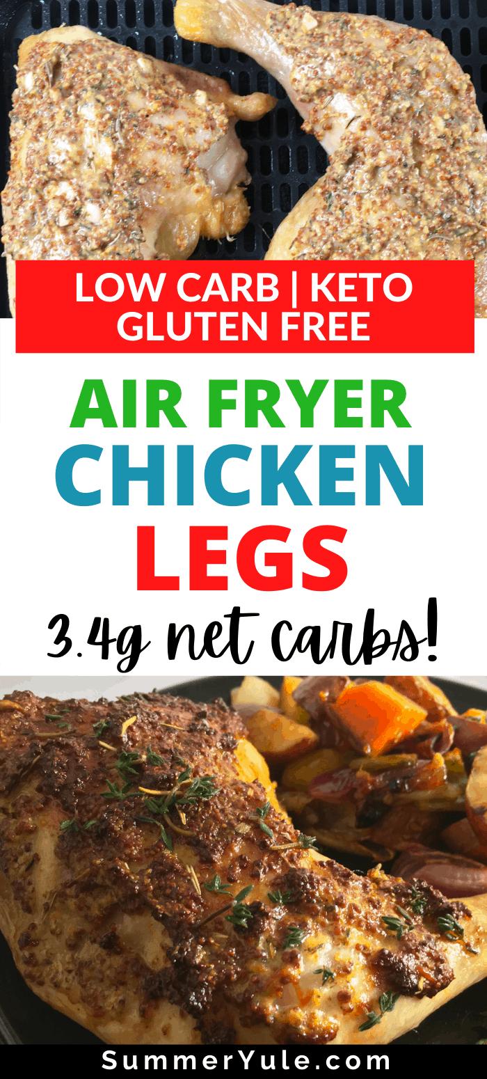 how to make air fryer chicken legs