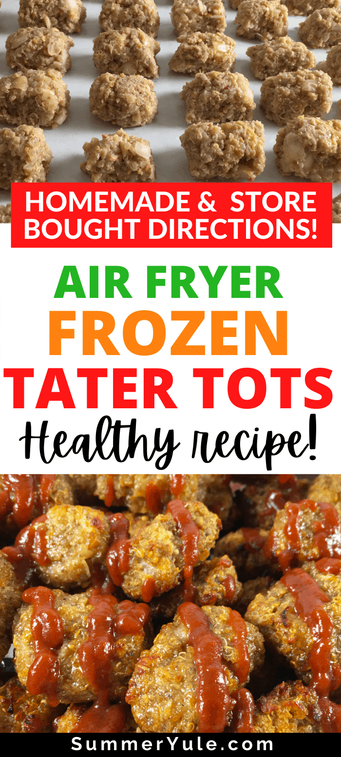 how to make frozen tater tots air fryer