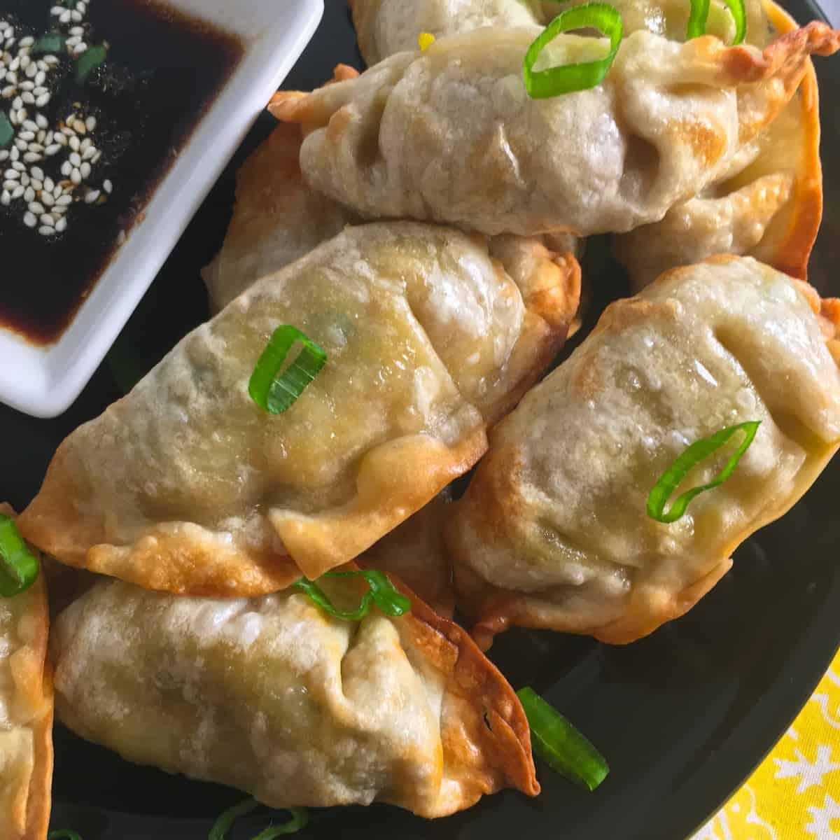 air fry dumplings