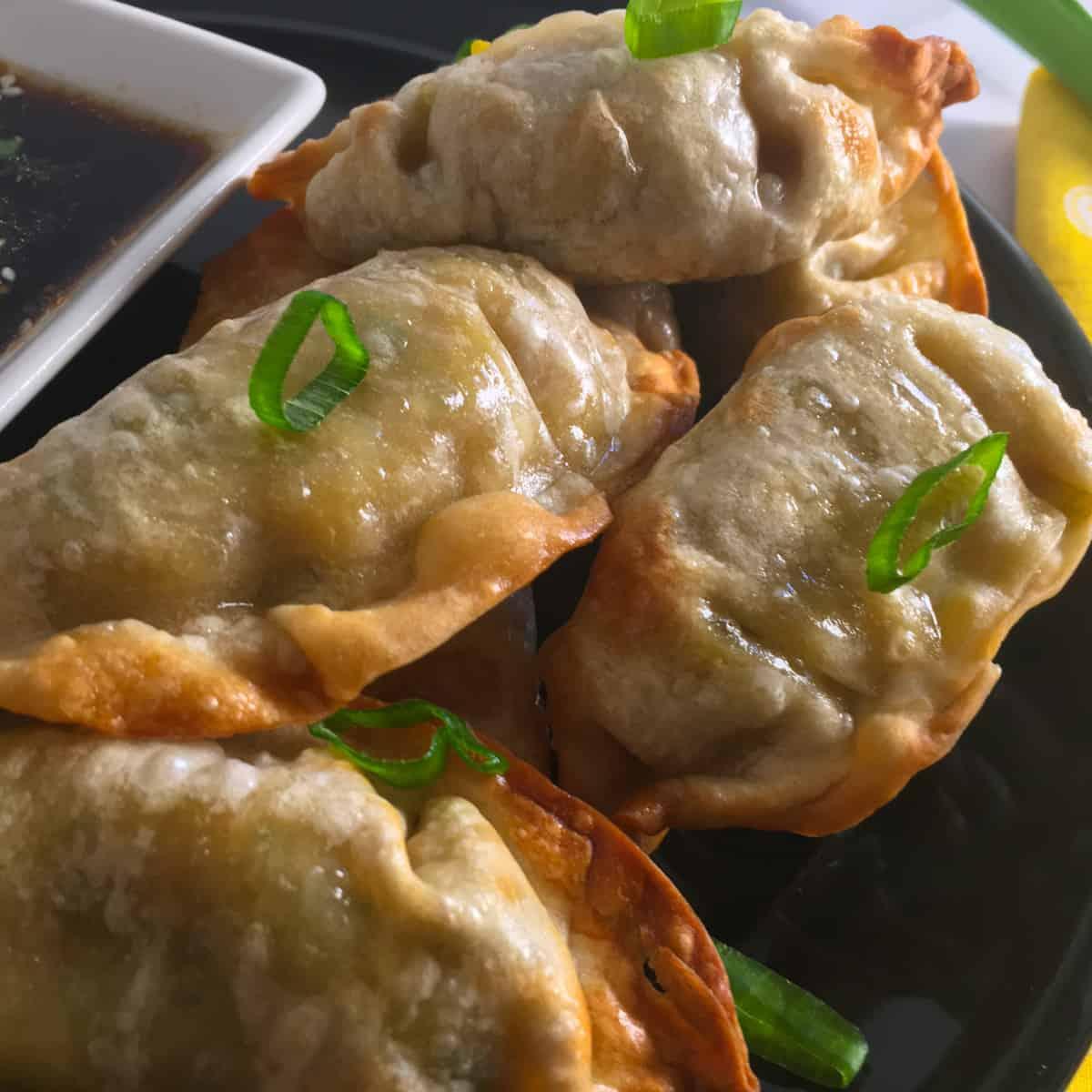 air fryer frozen dumplings