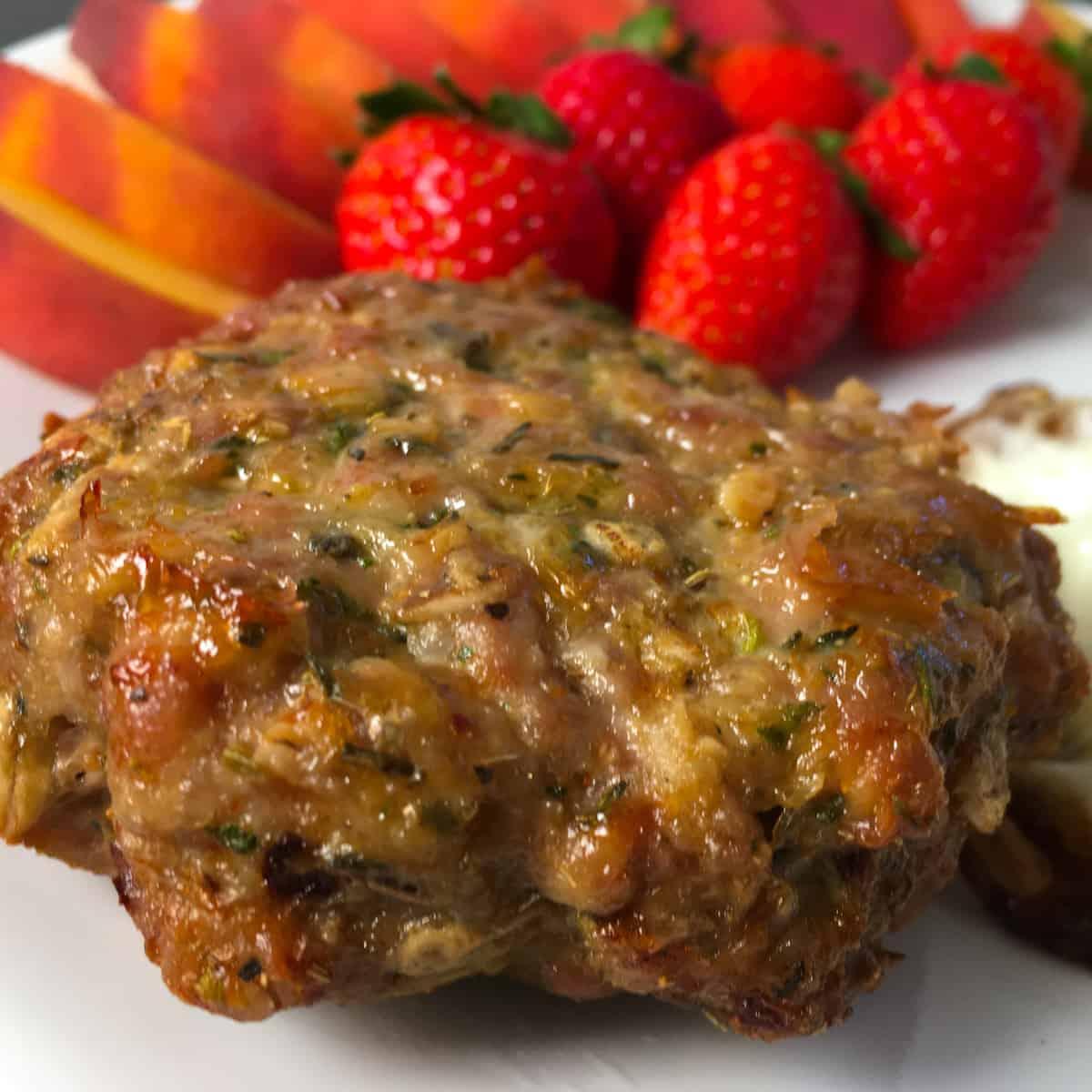air frying pork sausage