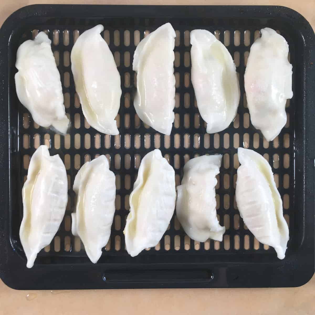 dumplings in air fryer