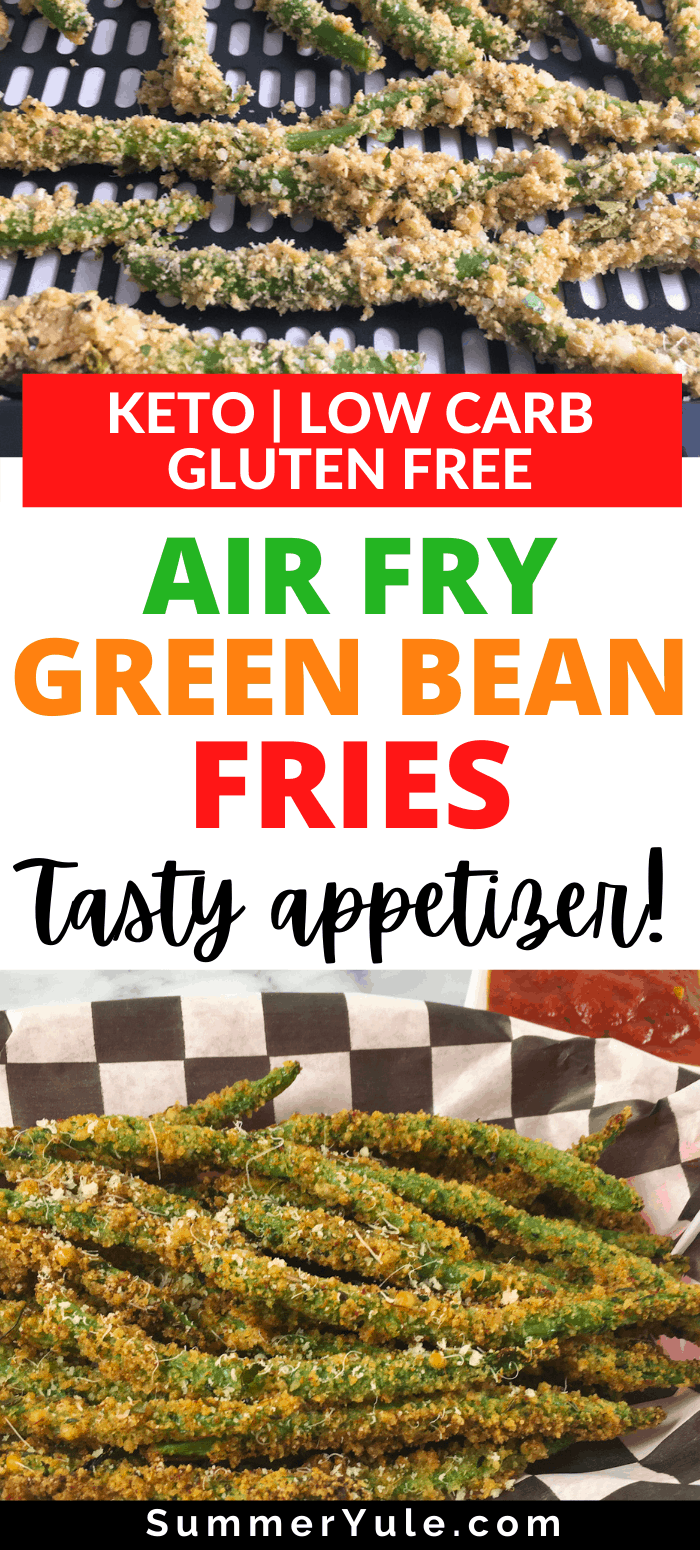 how to air fry green bean fries