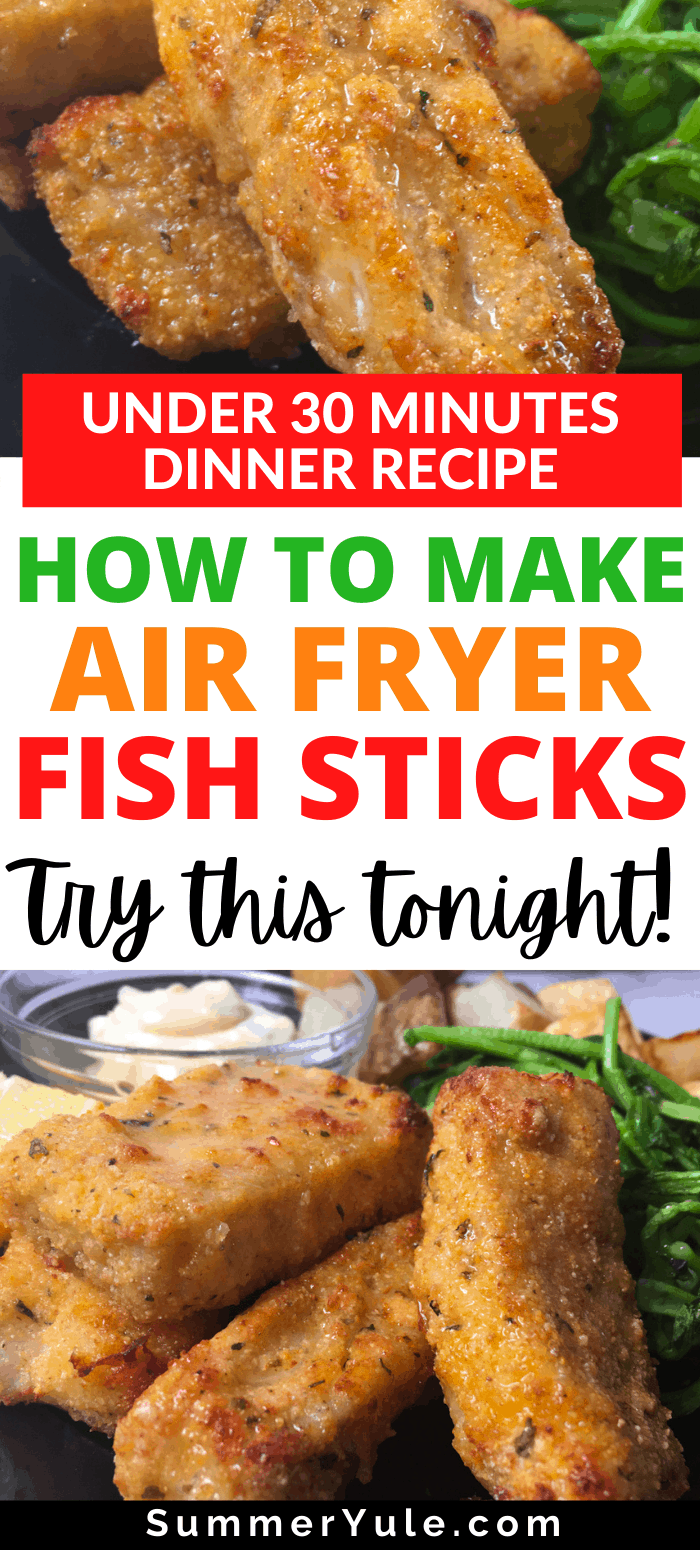 how to make air fryer fish sticks