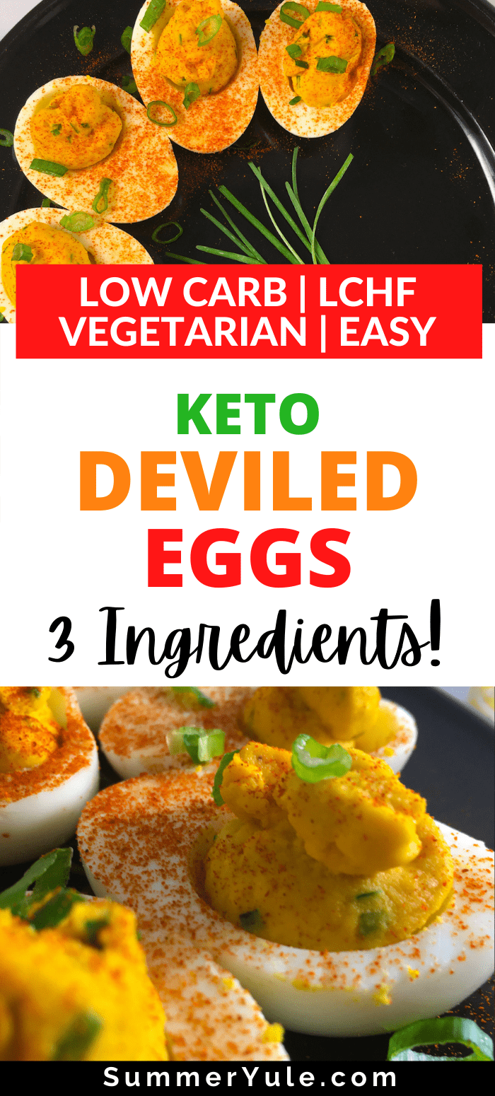 how to make keto deviled eggs