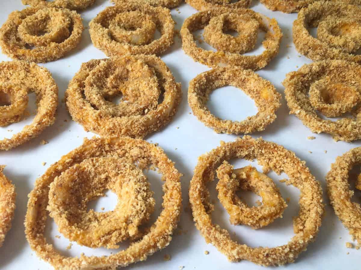 keto frozen onion rings