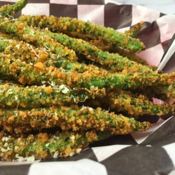 keto green bean fries