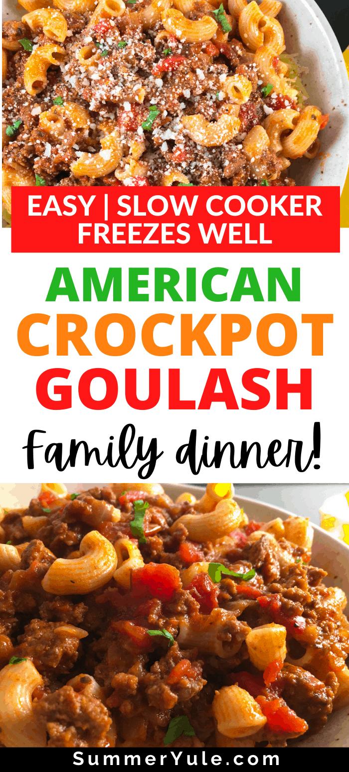 make american goulash crockpot