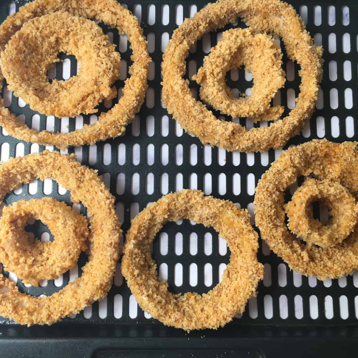 onion rings air fryer oven