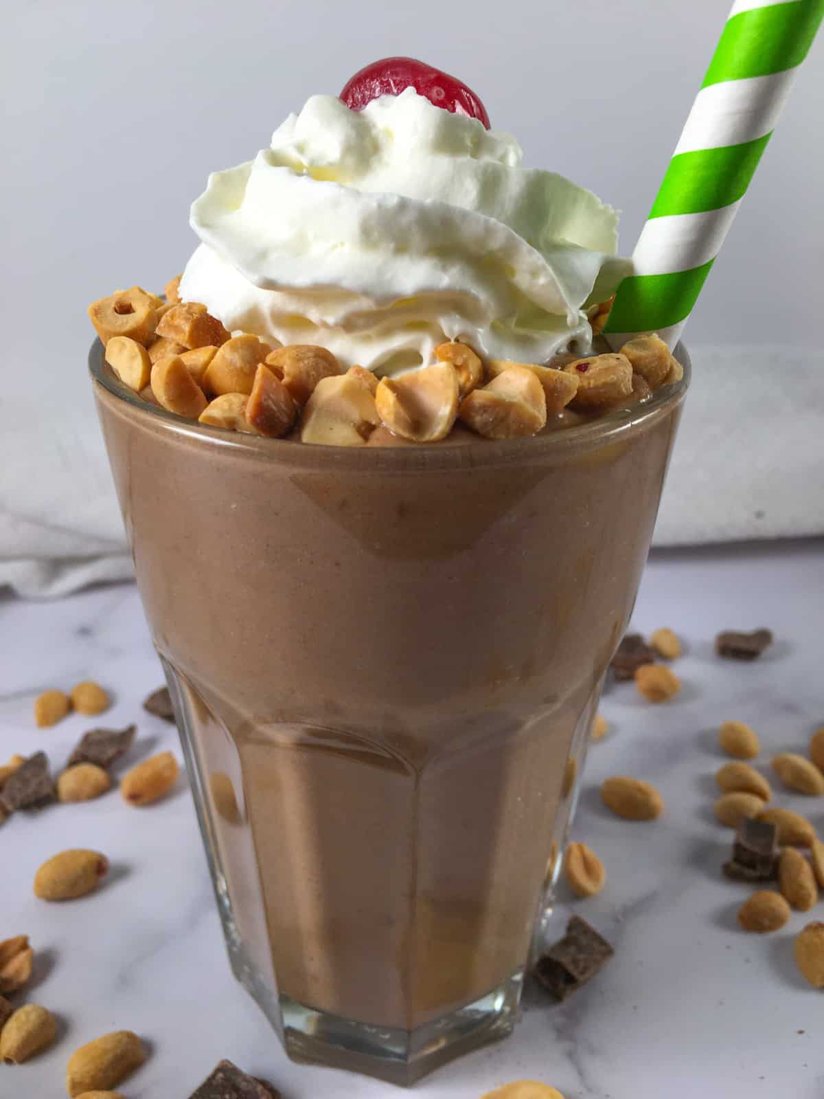 peanut butter avocado smoothie for weight gain