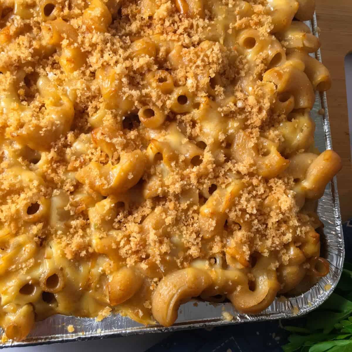 smoker mac and cheese
