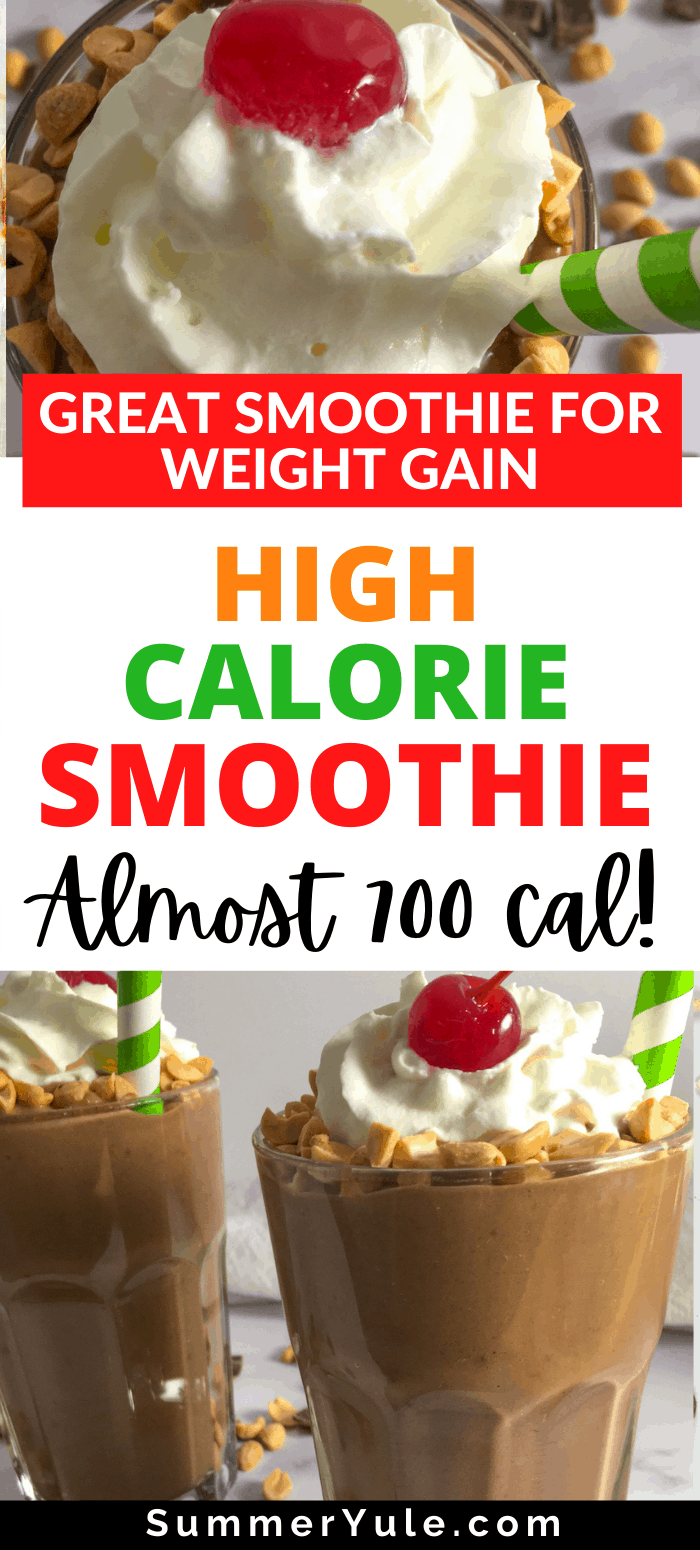 smoothie for weight gain