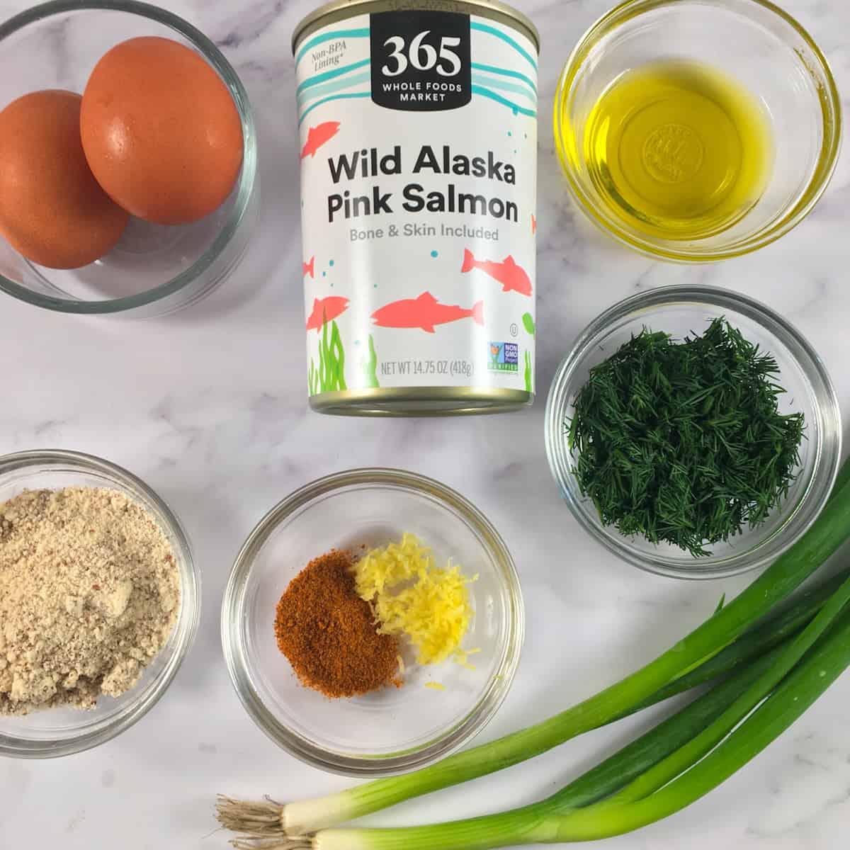 air fryer salmon patties ingredients
