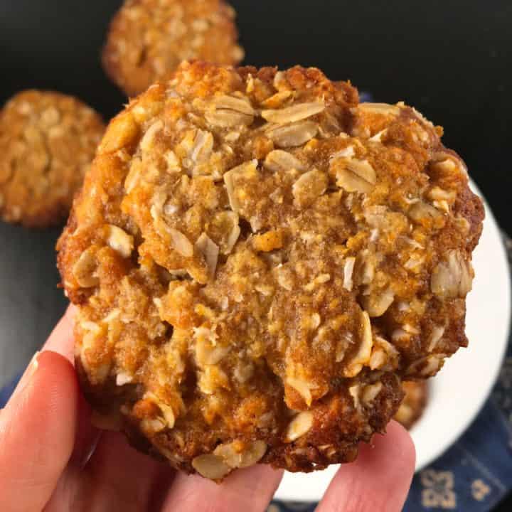gluten free anzac biscuit