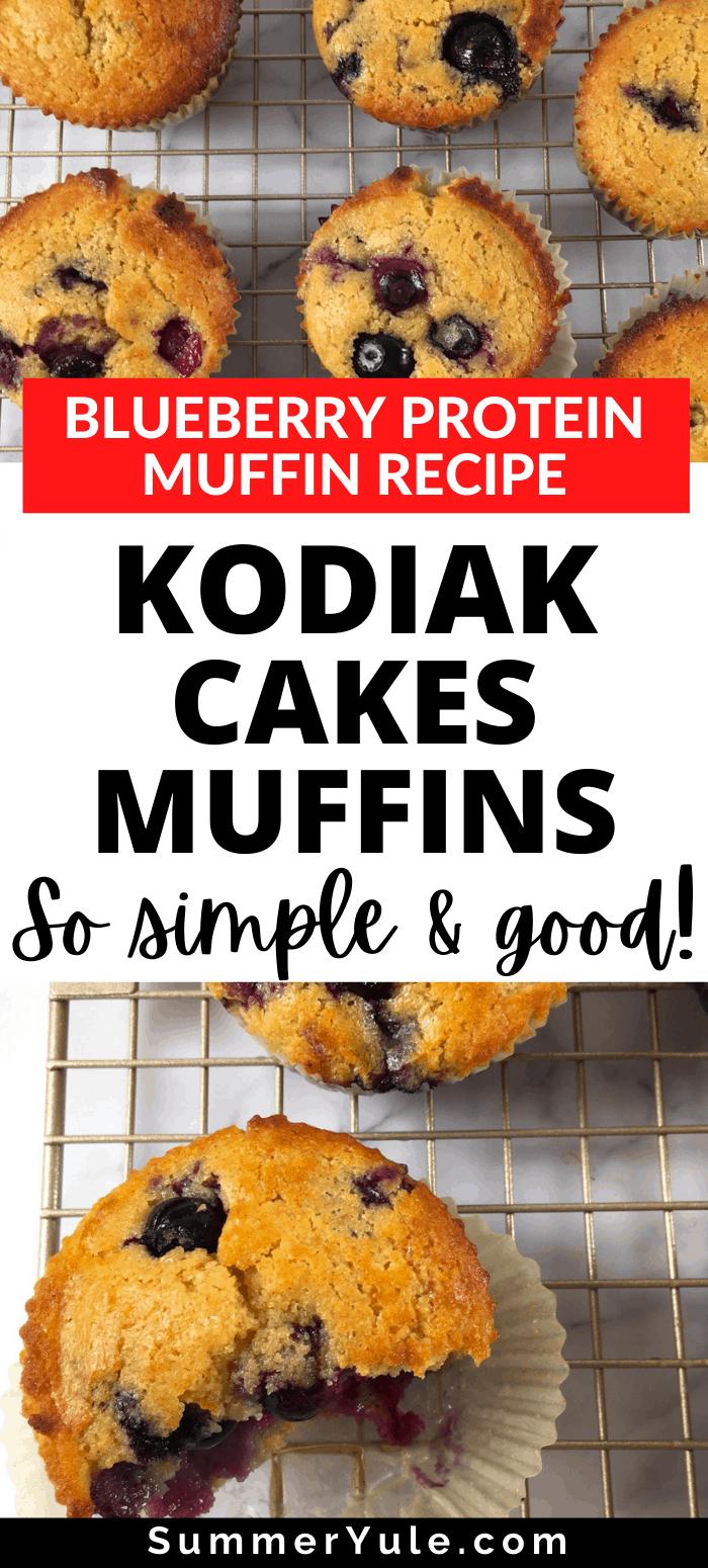 kodiak cakes muffins blueberry