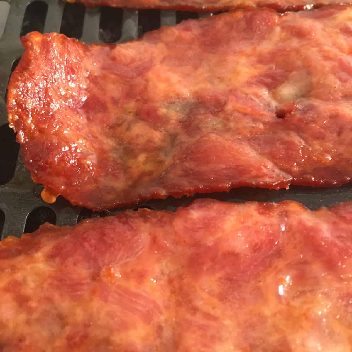 turkey bacon air fryer