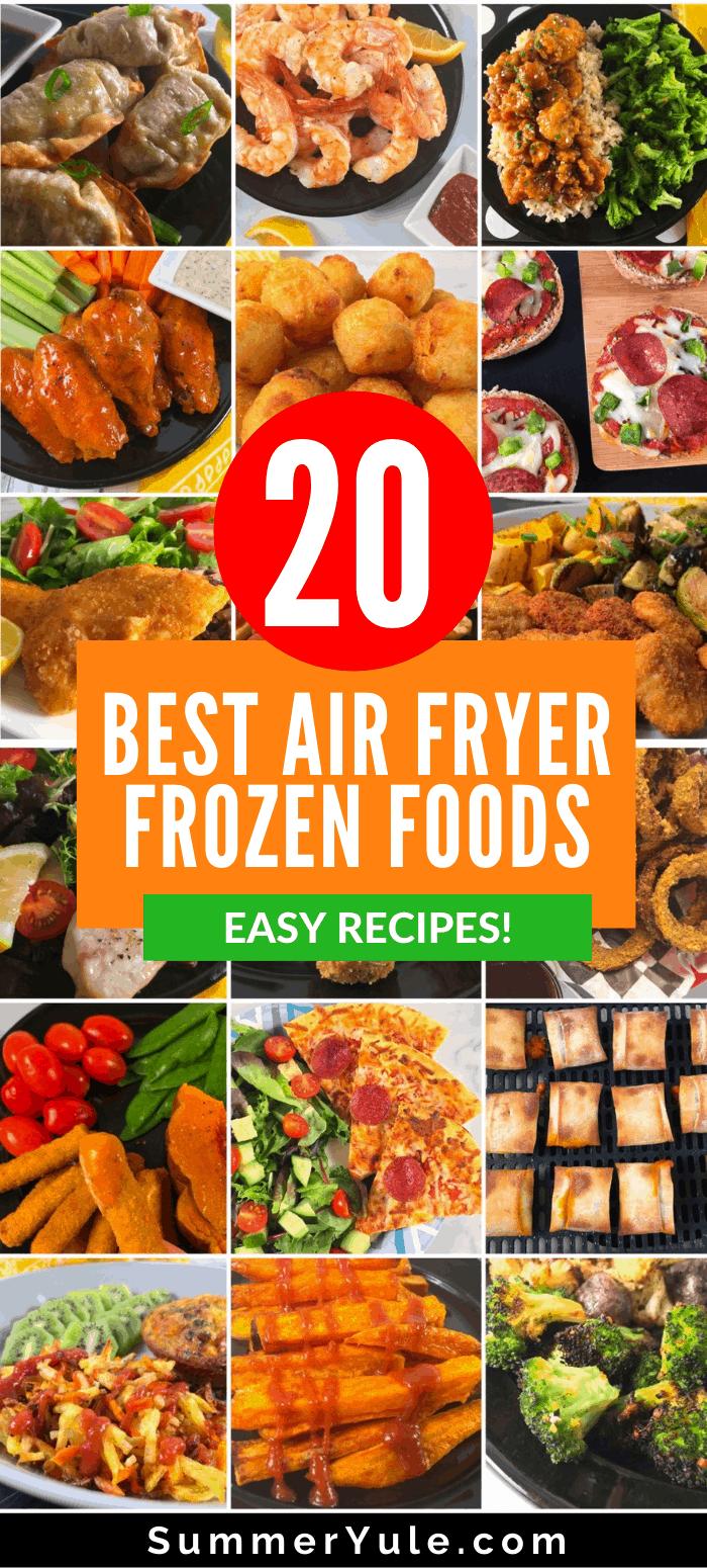 20 best frozen foods for air fryer