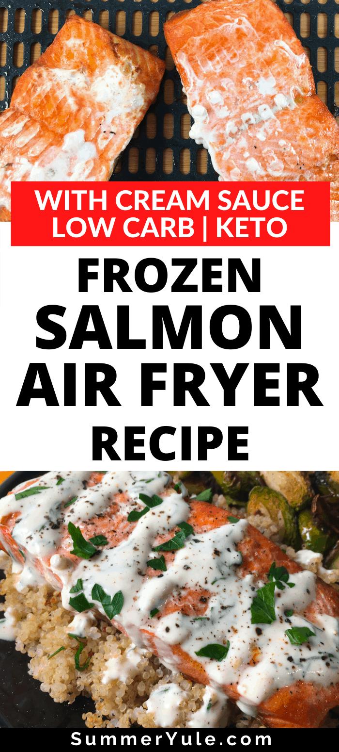 air fry frozen salmon
