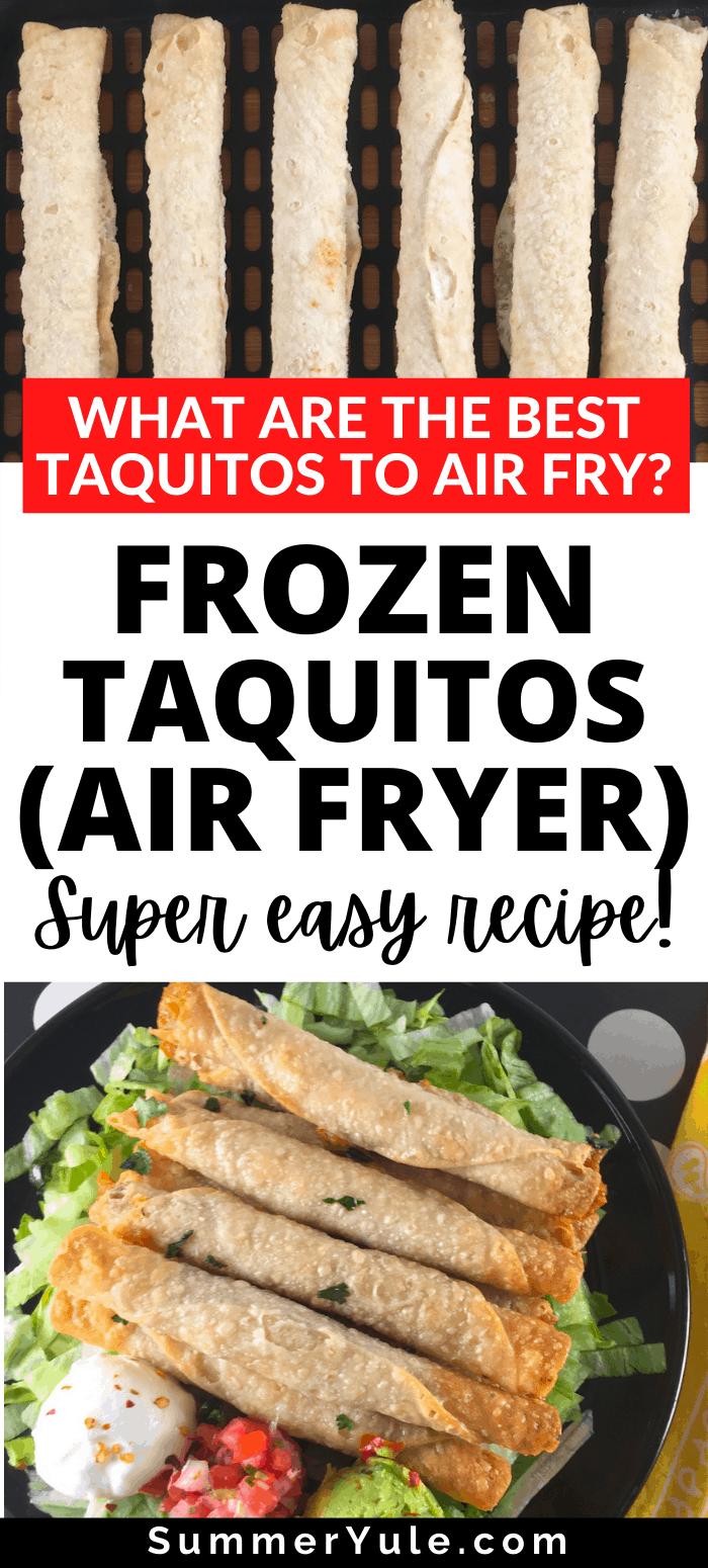air fry frozen taquitos
