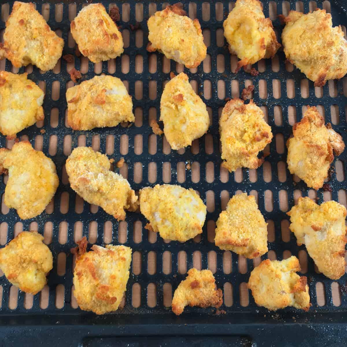 air fryer keto breaded chicken