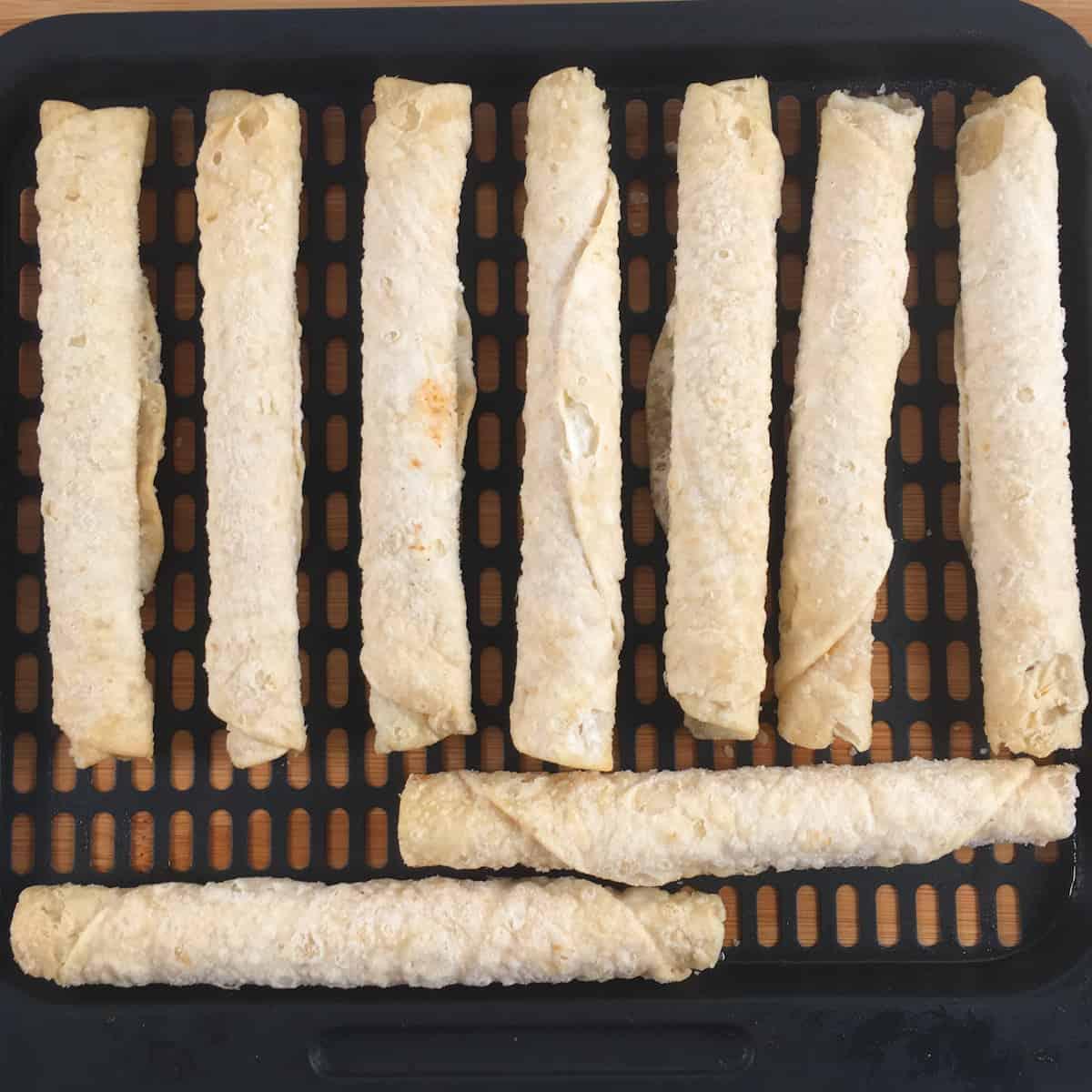 frozen taquitos air fryer