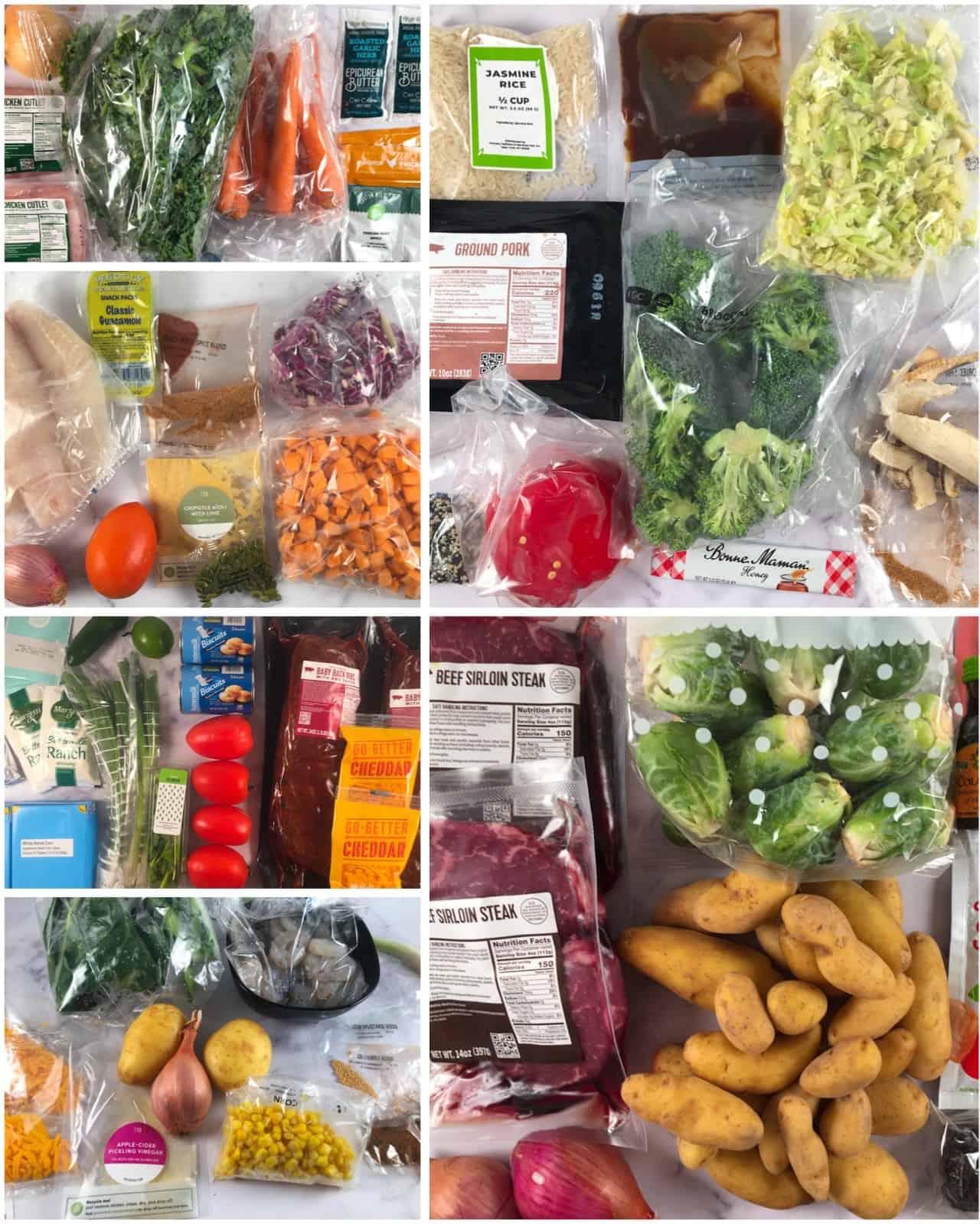 hello fresh vs green chef ingredients