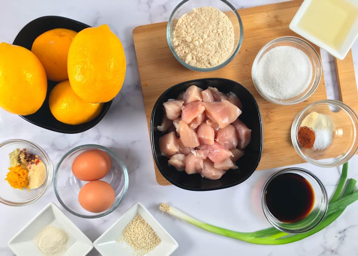 keto orange chicken ingredients