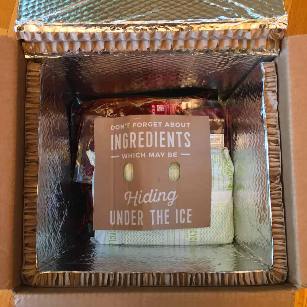 meal kit freshness