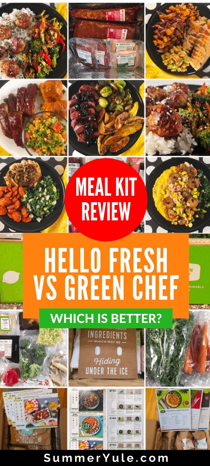 meal kit review hello fresh vs green chef