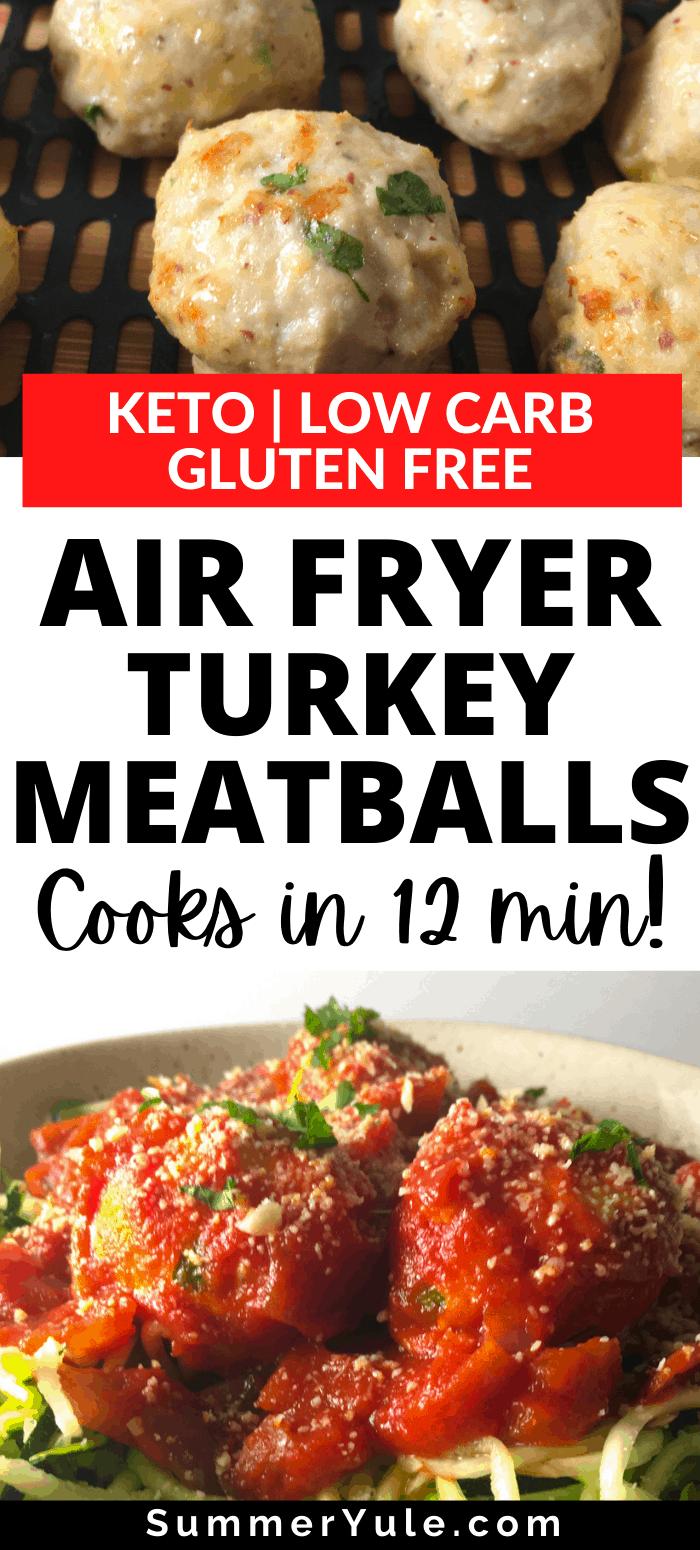 meatballs turkey air fryer