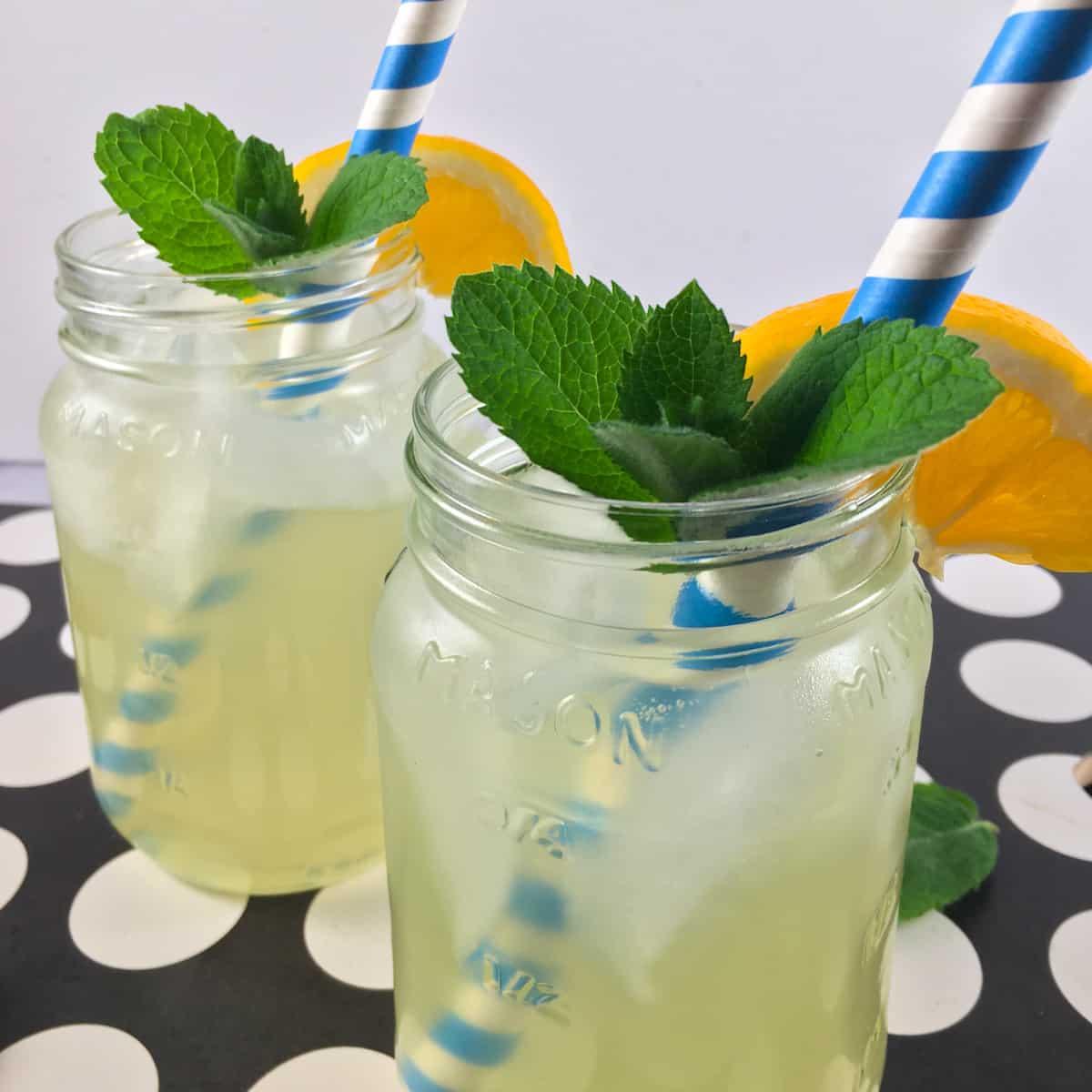 no sugar lemonade