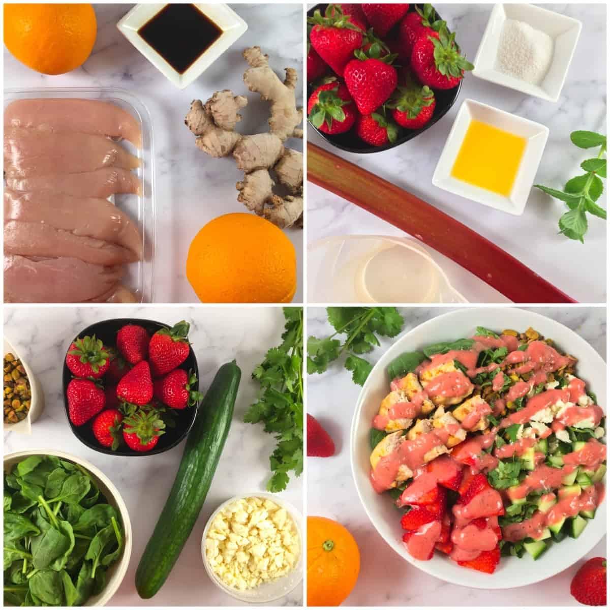 chicken salad with strawberries ingredients