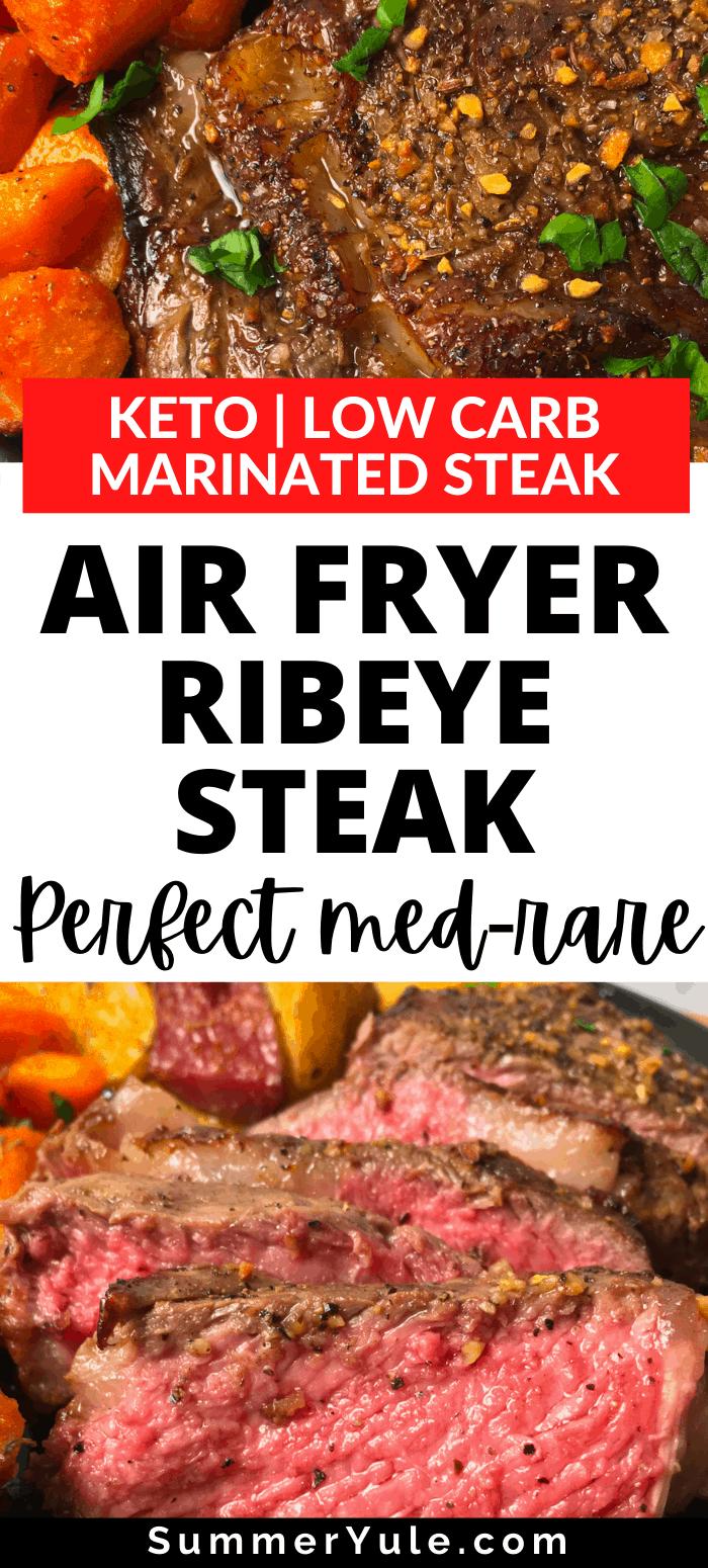 ribeye steak in air fryer