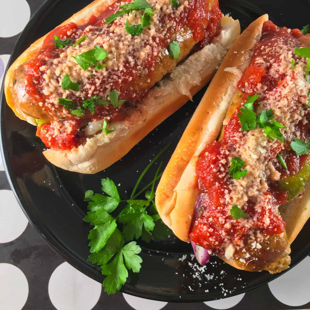 sausage and peppers in air fryer