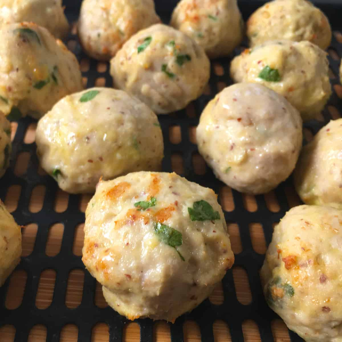 turkey meatballs in air fryer