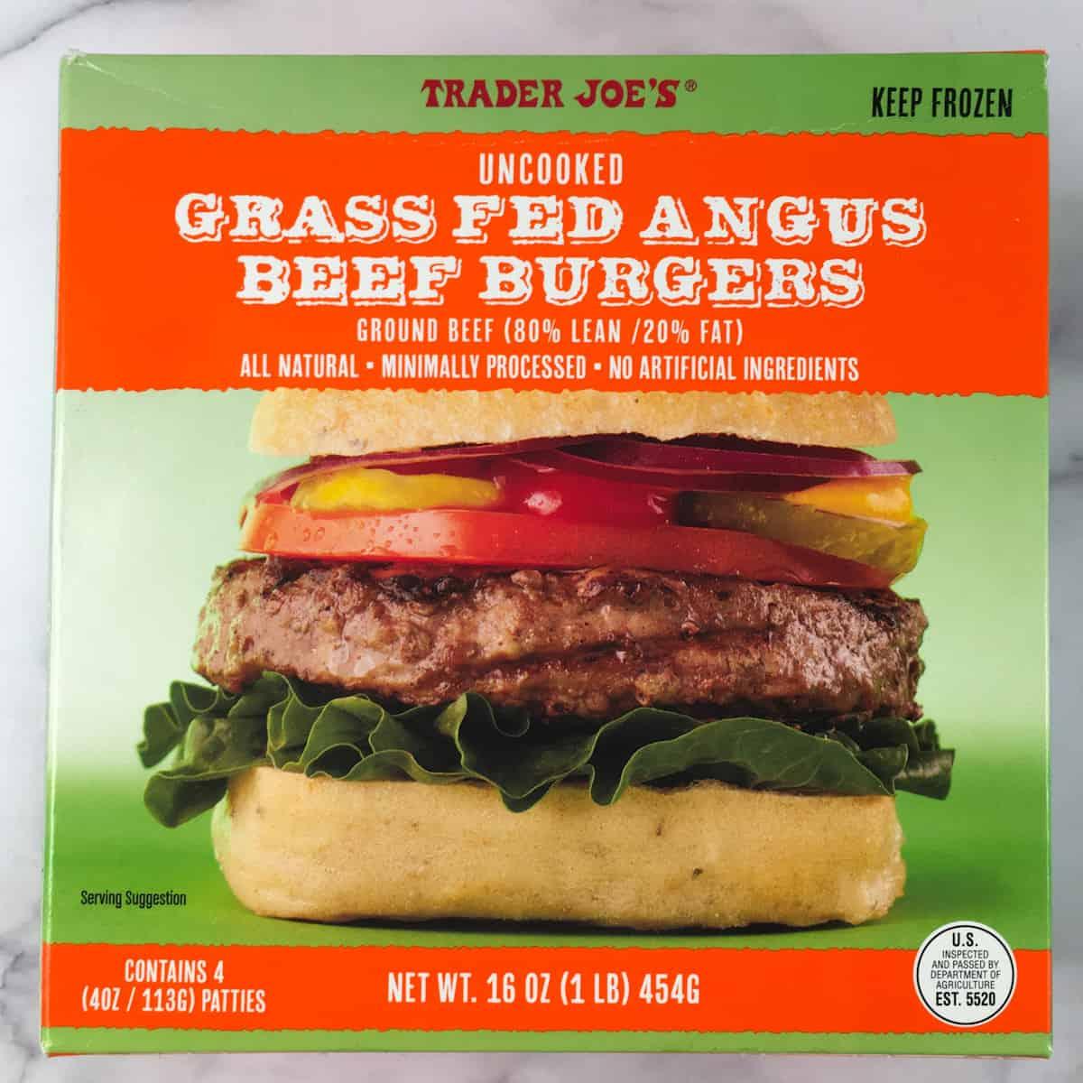 Trader Joes frozen burgers