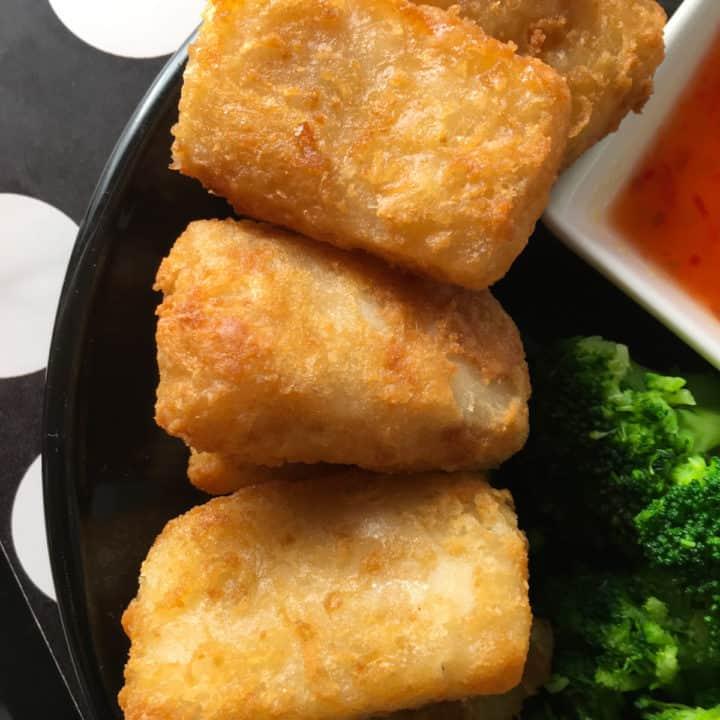 air fried fish nuggets