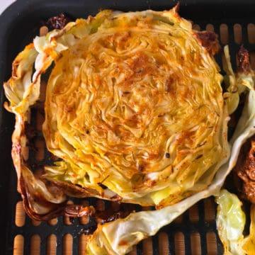 air fryer cabbage steak