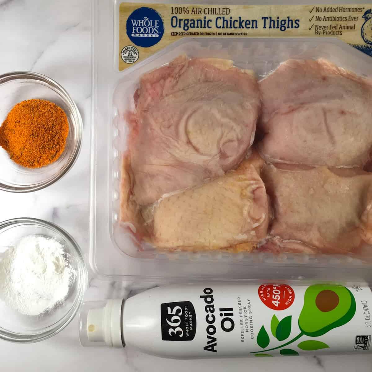 air fryer frozen chicken ingredients