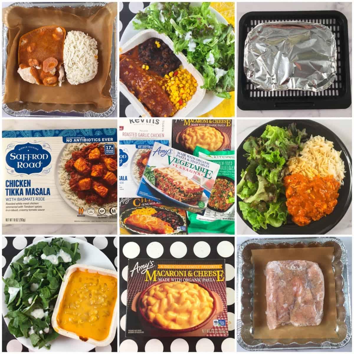 air fryer frozen microwave meals