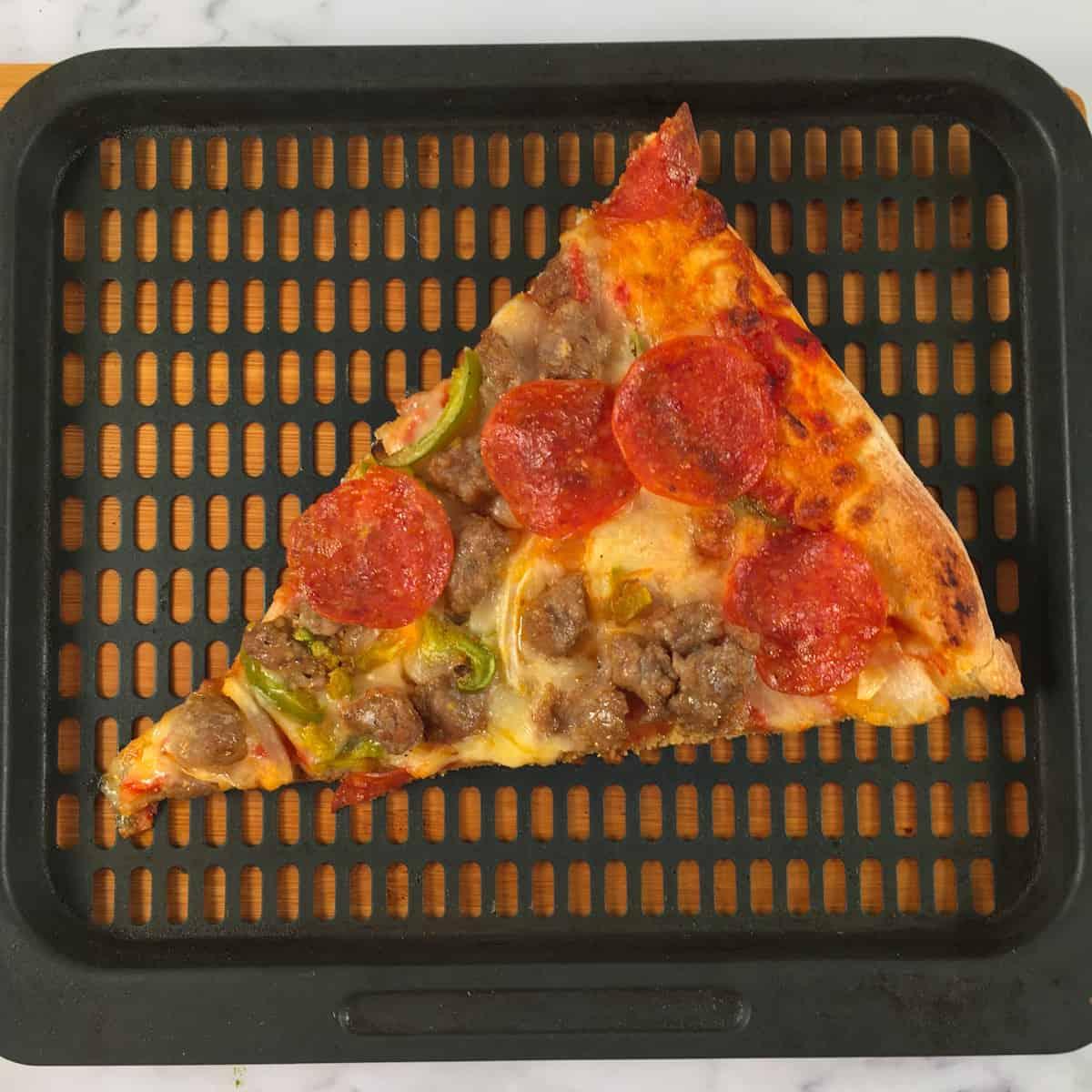 air fryer reheat pizza