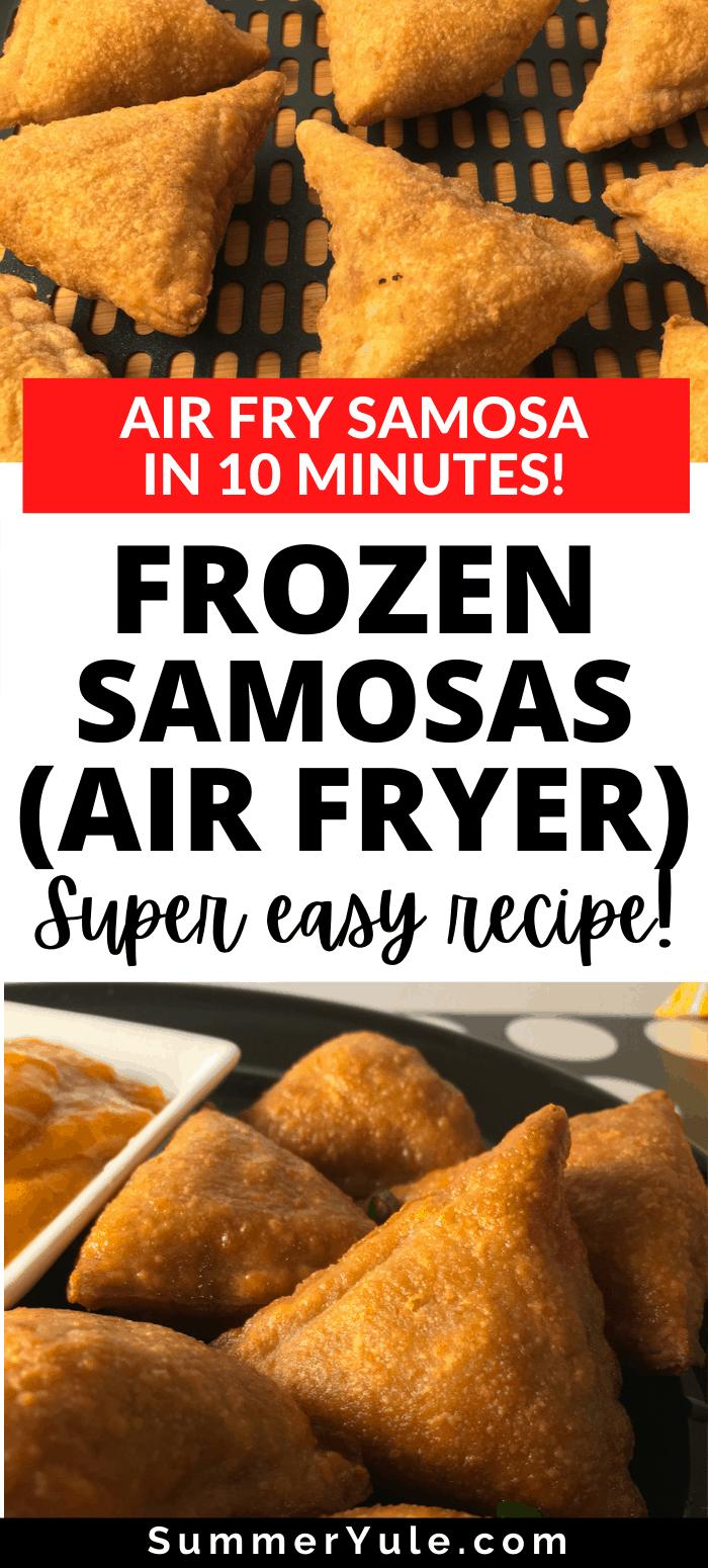 air fryer samosas