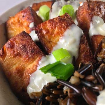 air fryer tofu crispy