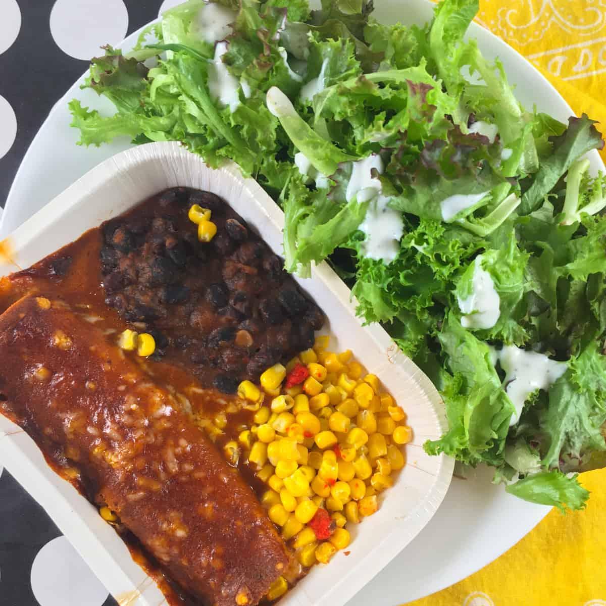 amys enchilada meal