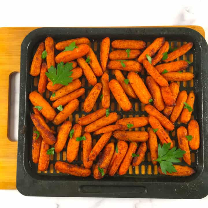 baby carrots airfryer