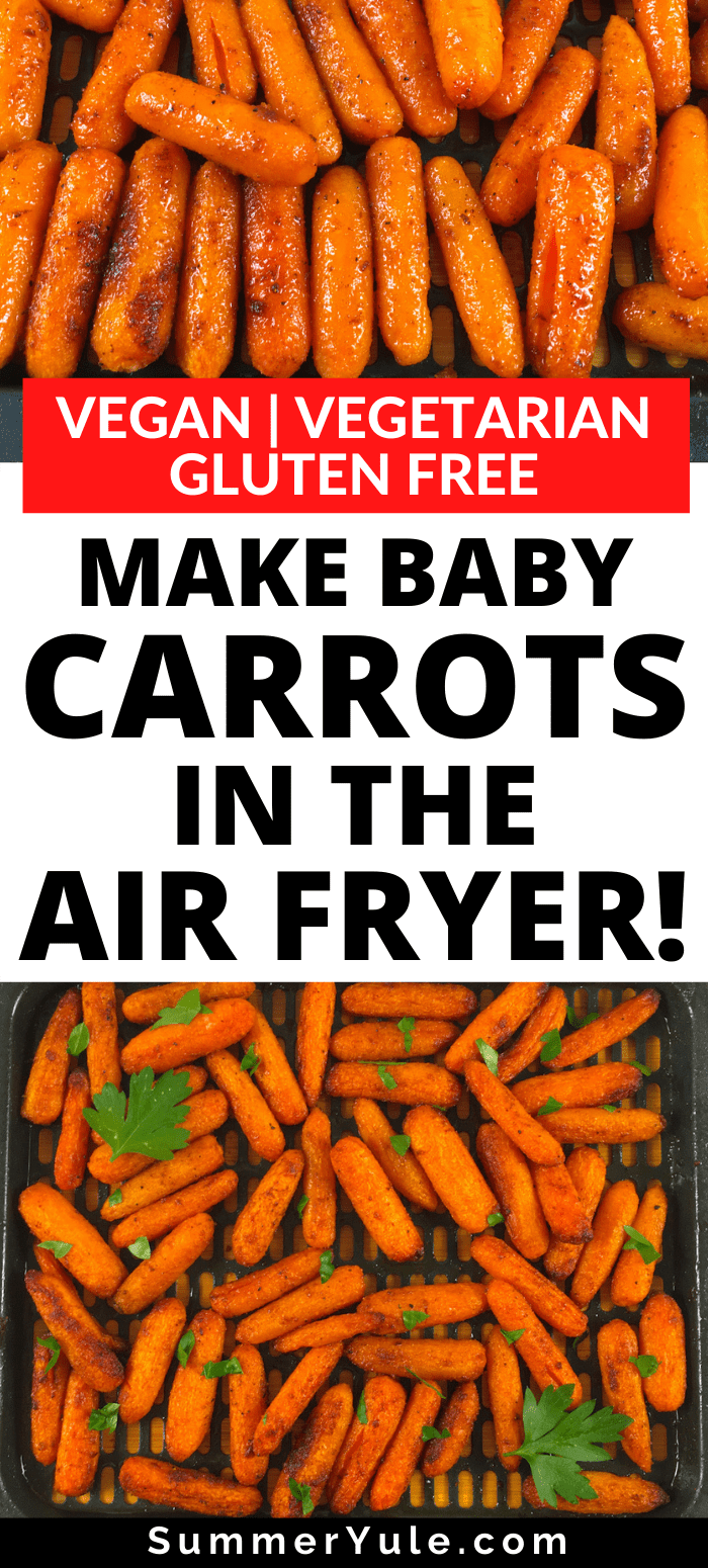 baby carrots in the air fryer