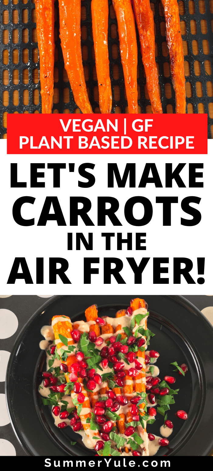 carrots in the air fryer